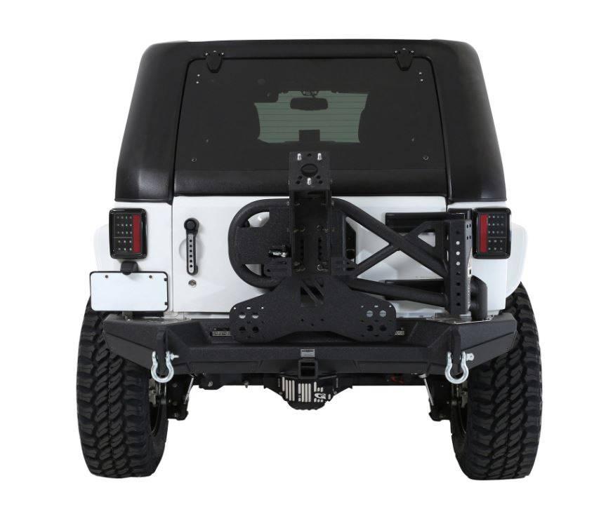 smittybilt #518703 reemplazo de techo duro inclinado jeep wrangler
