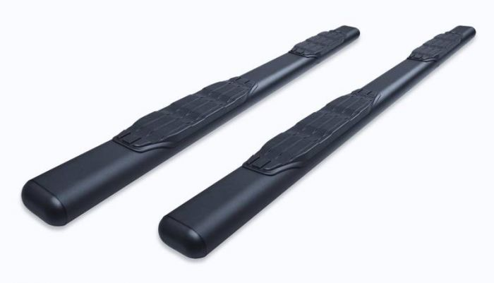 Big Country - Estribos Fusion Series - Negro Texturizado + Brackets  Nissan Titan 2004-2017 Extended