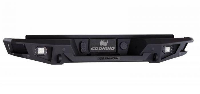 Go Rhino - Defensa trasera Go Rhino BR20 para Silverado 2500HD, 3500HD 2011 - 2014