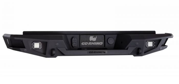 Go Rhino - Defensa trasera Go Rhino BR20 para Silverado 1500 2014 - 2016