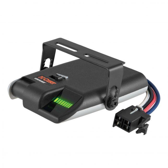 Curt Manufacturing - Accesorios electrónicos para remolque  -  Control para Frenos de Trailer de 1 o 2 ejes