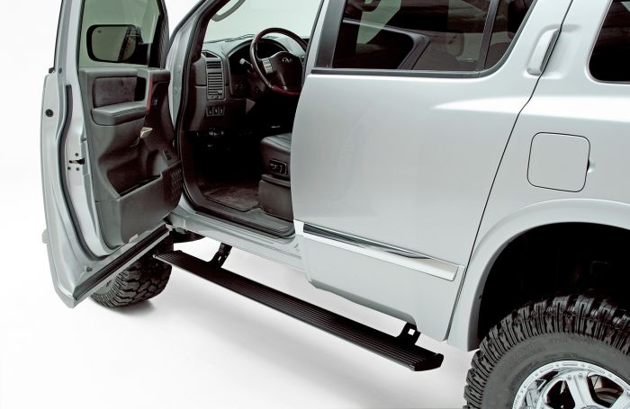 AMP Research - Estribos PowerStep para Nissan Titan 04 - 14