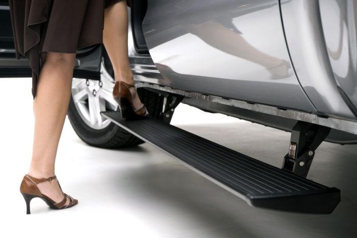 AMP Research - Estribos PowerStep para Toyota Tundra 07 - 16