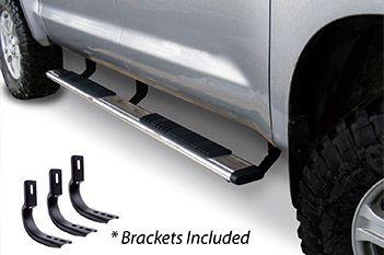 "Go Rhino - 5"" OE Xtreme 87"" Estribos + brackets - Low Profile Ford Ranger 02-12 Inoxidable"