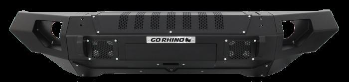 Go Rhino - BRJ40 Negro Texturizado + Straight End Caps Jeep Wrangler JK 07-18