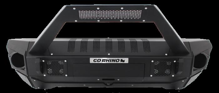 Go Rhino - Combo Defensa BRJ40 + Stubby End Caps + soporte Trailline para barra Led Jeep Wrangler JK 07-18