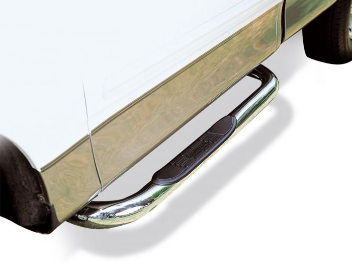 Go Rhino - Estribos serie 4000 + Brackets Inoxidable Dodge Ram 09-14 Reg Cab