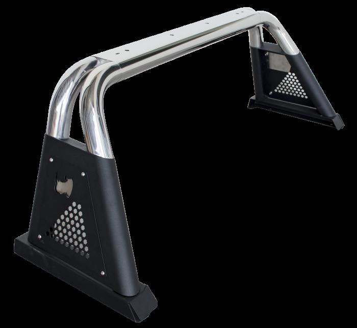 Go Rhino - Sport Bar 3.0 Mid Size Inoxidable Varias Aplicaciones