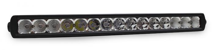 "Go Rhino - Luces LED - Go Rhino Universal Barra Sencilla de 20"""