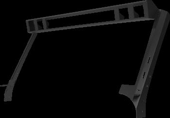 """Go Rhino - Marco de luz en parabrisas WLF para barra 30""""  y 4 duallys 3"""""""
