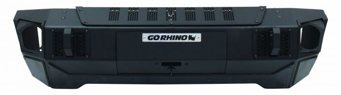 Go Rhino - Defensa Delantera Trailline Stubby Bumper Jeep Wrangler JL Unlimited & JK 07-19