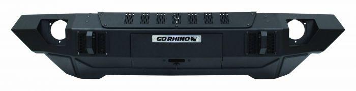 Go Rhino - Trailline Straight Bumper Jeep Wrangler JK 07-18 / Jeep Wrangler JL 18-20/ Jeep Gladiator 18-20