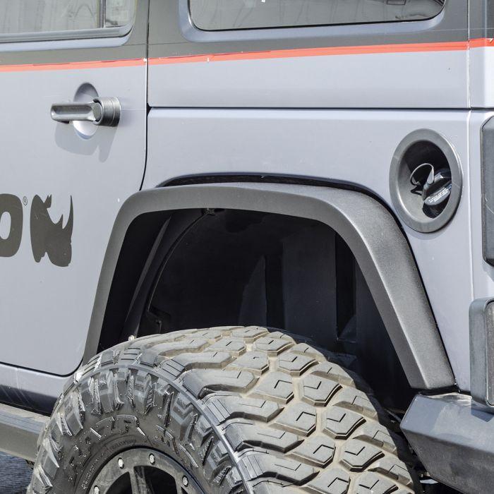 "Go Rhino - Cantoneras Posteriores Roadline 3"" Jeep Wrangler JK 2/4 puertas 2007-2018"