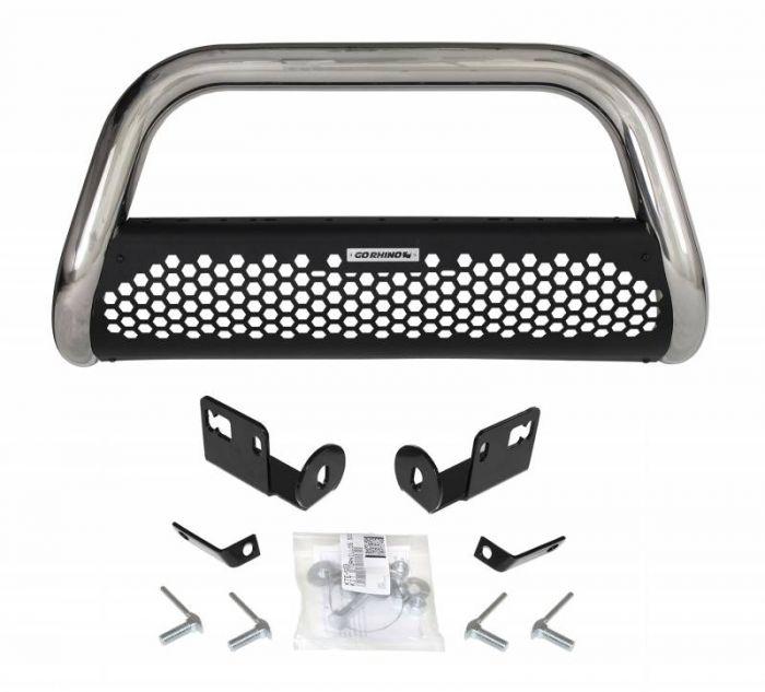 Go Rhino - RC2 Negro + Brackets Nissan Xtrail  19-21