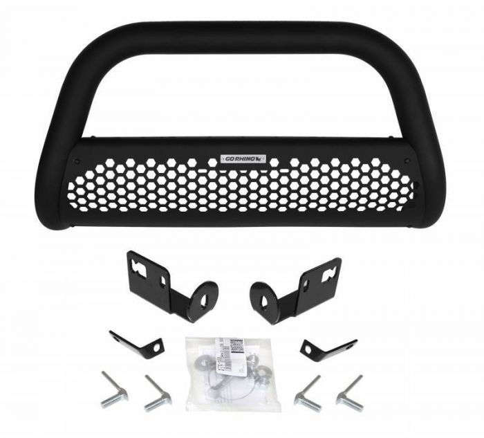 Go Rhino - RC2 Negro Texturizado + Brackets Volkswagen Amarok 16-21