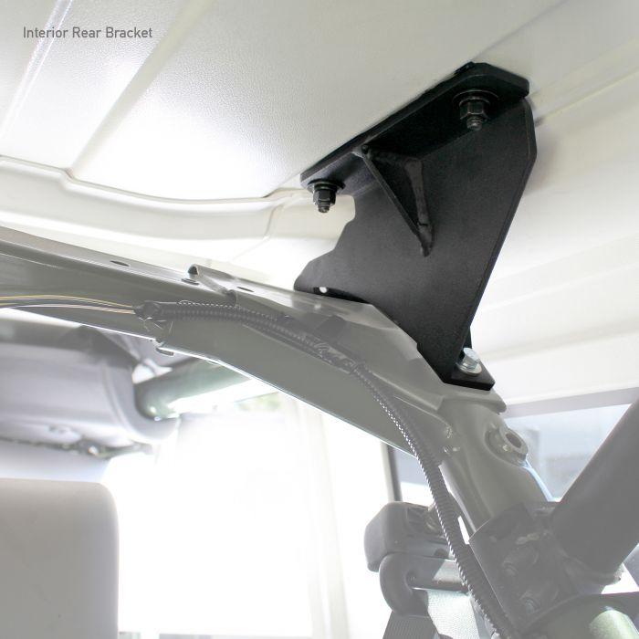 Go Rhino - Kit de Montaje para Canastillas SRM Jeep Wrangler JK 07-18