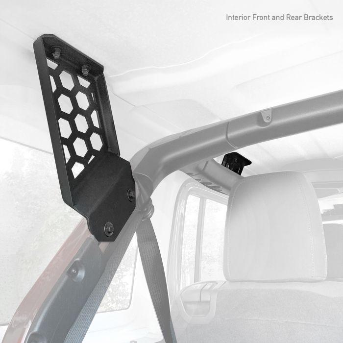 Go Rhino - Kit de Montaje para Canastillas SRM Jeep Wrangler JL 18-20