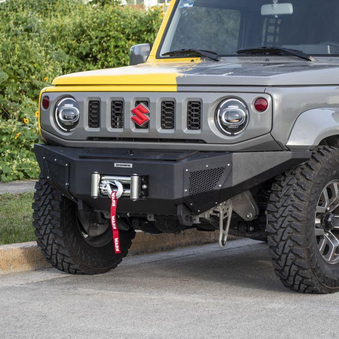 Go Rhino - BR6 Negro Texturizado Suzuki Jimny 2021+