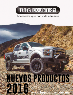Catálogo Nuevos Productos Big Country