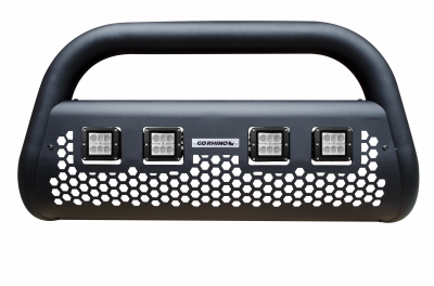 Go Rhino - RC2 LR4 Negro Texturizado + Brackets + 2 pares Dually GR Chevrolet S10 16-18 - Image 1