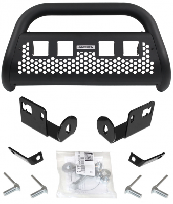 Go Rhino - RC2 LR4 Negro Texturizado + Brackets + 2 Pares Dually GR Ford Ranger 16-19 - Image 2