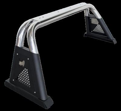 Go Rhino - Sport Bar 3.0 Mid Size Inoxidable Varias Aplicaciones - Image 1