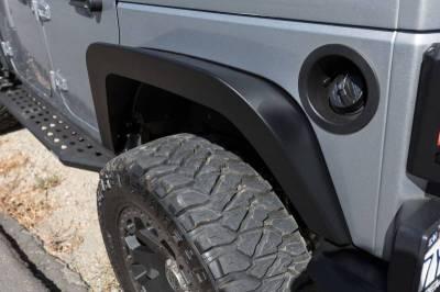 Go Rhino - Fender Trailline delanteras Jeep Wrangler JK 07-18 - Image 2
