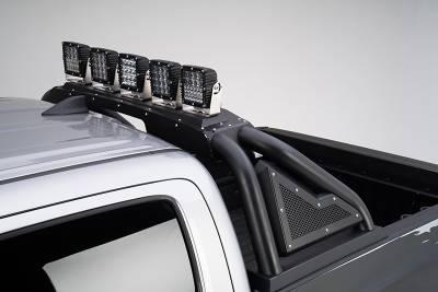 Go Rhino - Sport Bar 2.0 Full Size Negro Texturizado + Actuador Varias Aplicaciones (No incluye Duallys) - Image 4