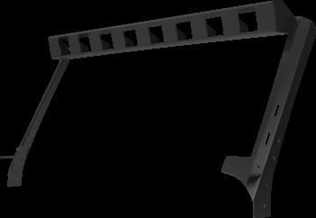 """Go Rhino - Marco de luz en parabrisa WLF 8 duallys 3"""" Jeep Wrangler JK 07-18 - Image 4"""
