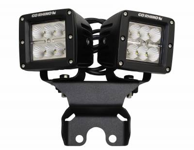 Go Rhino - Montaje de LEDs posteriores Jeep Wrangler JL 18-21 / Jeep Gladiator 20-21 - Image 2