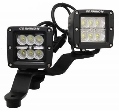 Go Rhino - Montaje para LED?s delanteros Jeep Wrangler JL 18-19 - Image 3