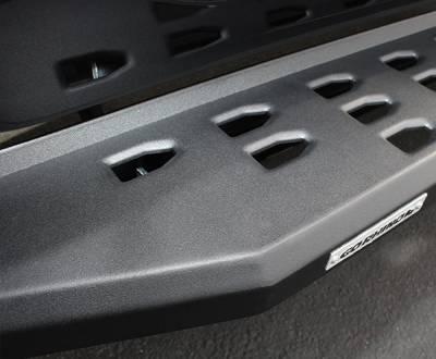 Go Rhino - Estribos RB20 Negro Texturizado Jeep Wrangler JL 18-20 4 puertas - Image 2