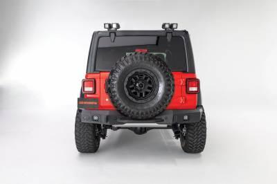 Go Rhino - Rockline Rear Full Width Jeep Wrangler JK 07-18 (Defensa trasera) - Image 2