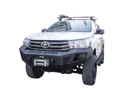 Go Rhino - BR5 Negro Texturizado Toyota Hilux Revo 18-20 - Image 2