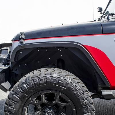 "Go Rhino - Go Rhino #701031T Cantoneras Frontales Roadline 3"" Jeep Wrangler JK 2/4 puertas 2007-2018 - Image 2"