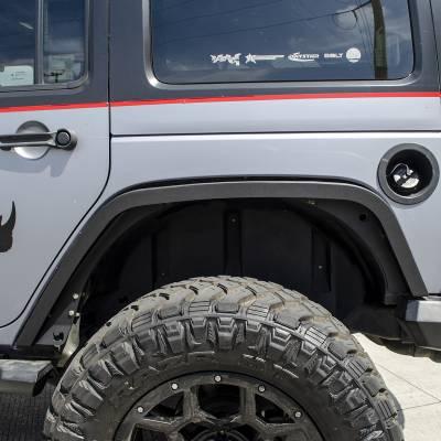 "Go Rhino - Cantoneras Posteriores Roadline 3"" Jeep Wrangler JK 2/4 puertas 2007-2018 - Image 2"