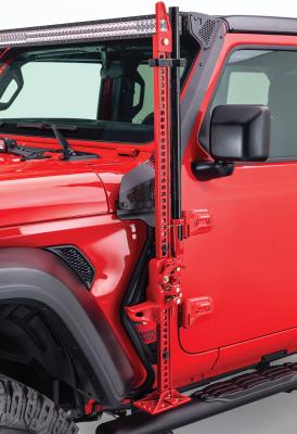 Go Rhino - Montaje delantero para Gato Hidraulico - Jeep Wrangler JL 18-21 / Gladiator 20-21 (Lado Conductor) - Image 1