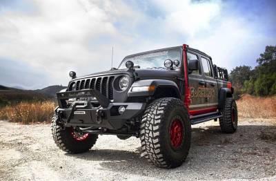 Go Rhino - Montaje delantero para Gato Hidraulico - Jeep Wrangler JL 18-21 / Gladiator 20-21 (Lado Conductor) - Image 3