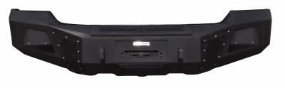 Go Rhino - BR5.5 Negro Texturisado Chevrolet Silverado 1500 16-19 - Image 1