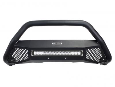 Go Rhino - RC4 LR Skid Plate Negro Texturizado + Luz Led Mitsubishi L200 20-21 (Defensa+Brackets+Luz) - Image 3