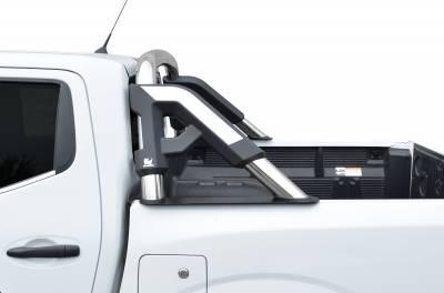 Go Rhino - Roll Bar GR con bracket para tapa de batea Nissan NP300 16-20 Inoxidable - Image 2