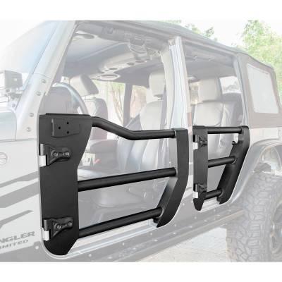 Go Rhino - Puerta Tubular Delantera Go Rhino Jeep Wrangler JK 07-18 - Image 2