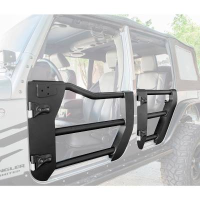 Go Rhino - Puerta Tubular Delantera Go Rhino Jeep Wrangler JL 18- 21 / Jeep Gladiator 20-21 - Image 2