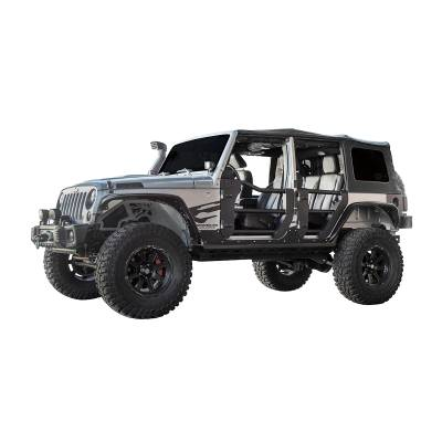 Go Rhino - Puerta Tubular Trasera Go Rhino Jeep Wrangler JL / Gladiator 18-20 - Image 3