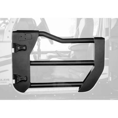Go Rhino - Puerta Tubular Delantera Go Rhino Jeep Wrangler JL 18- 21 / Jeep Gladiator 20-21 - Image 1