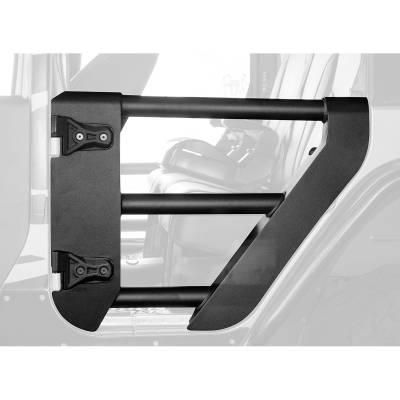 Go Rhino - Puerta Tubular Trasera Go Rhino Jeep Wrangler JK 07-18 - Image 1