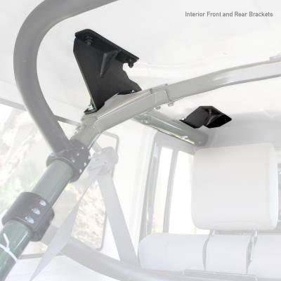 Go Rhino - Kit de Montaje para Canastillas SRM Jeep Wrangler JK 07-18 - Image 2