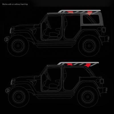 Go Rhino - Kit de Montaje para Canastillas SRM Jeep Wrangler JK 07-18 - Image 5