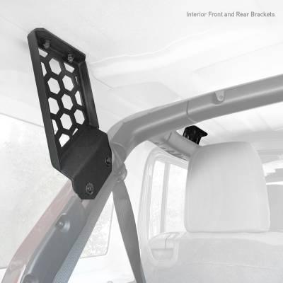 Go Rhino - Kit de Montaje para Canastillas SRM Jeep Wrangler JL 18-20 - Image 1