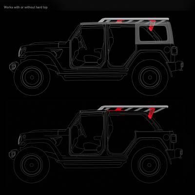 Go Rhino - Kit de Montaje para Canastillas SRM Jeep Wrangler JL 18-20 - Image 5